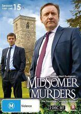 Midsomer Murders : Season 15 : Part 1 brand new 2dvd set - all region!