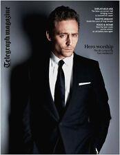 Telegraph Magazine Tom Hiddleston Guy Martin Lupita Nyong'o Laura Laura Spinney