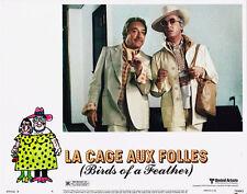 LA CAGE AUX FOLLES UGO TOGNAZZI MICHEL SERRAULT ORIGINAL 11X14 LOBBY CARD 1979