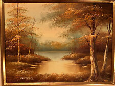 Cantrell Original Oil Signed Framed 18x22 Great Cantrell Example Great Low Price
