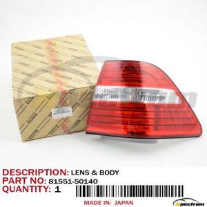 03-06 LEXUS LS430 FACTORY OEM 81551-50140 NEW (RH) PASSENGER SIDE TAILLIGHT LAMP