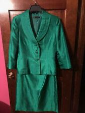 Suit- Women- Beautiful Green 2 piece skirt and jacket set
