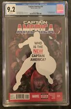 Captain America #25 CGC 9.2 1st Sam Wilson Falcon As Captain America Disney +