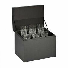 Waterford Crystal Lismore Double Old Fashioned Tumbler Set of 6 156437
