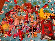 Junk Drawer Toy Lot Girls and Boys Dolls MLP Batman LOC Comic Batsignal BK Nerf