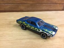 Hot Wheels 2013 Super T-hunt '71 Dodge Demon Aqua w/RR Real Riders Loose