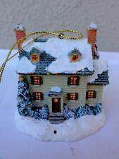 "Thomas Kinkade "" Winter Morning "" Ornament Collection"