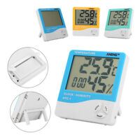 HTC-1 LCD Digital Thermometer Hygrometer Indoor Temperature Humidity Meter ANENG
