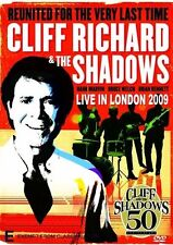 Cliff Richard And The Shadows - Live in London 2009 (DVD, 2009) - Region 4