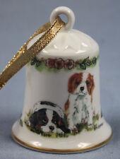Cavalier King Charles porcelaine Cloche chien personnage porcelaine Cloche, 5412