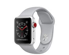 Apple watch Series 3 38 mm Silver AL Fog sport band(GPS+CELL) MQKF2X/A AU Stock