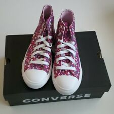 Converse Chuck Taylor All Star Floral High Top Girls shoes sz 2