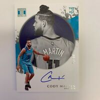 2019/20 Panini Impeccable CODY MARTIN On Card Auto SP Rookie #32/99 HORNETS