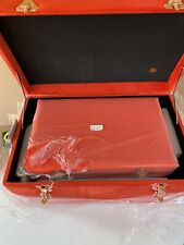 New 3 X  BUNDLEBERRY BY AMANDA HOLDEN SET OF THREE VELVET TOUCH TRUNKS RED