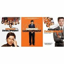 Arrested Development  The Complete Series 1, 2, 3 DVD SET Comedy NEW IN BOX