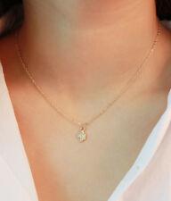 Clavicle Chains Necklaces Gift Fashion Women Gold Cactus Pendant