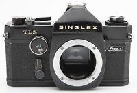 Ricoh Singlex TLS Body Gehäuse analoge Spiegelreflexkamera schwarz