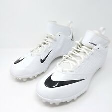 New Mens Nike Lunar Superbad Pro TD Football Cleats White Black 511334-101 Sz 16