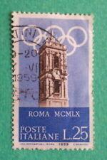 Francobolli della Repubblica italiana dal 1956 al 1964, tema olimpiadi