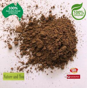 Certified Organic REISHI MUSHROOM POWDER (Ganoderma lucidum) 40g/80g/120g
