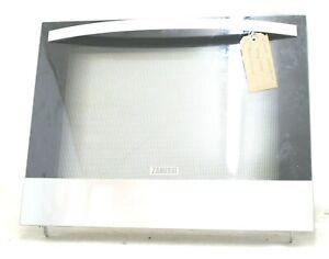 Zanussi Oven Cooker Full Main Door With Glass Handle Hinges For ZOB35301XK