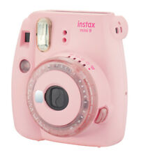 Fuji Instax Mini 9 clear Pink Special Edition Sofortbildkamera inkl 3 Farblinsen