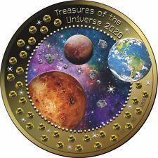 5 Cedis Ghana 2020 - 1 OZ Treasures of the Universe 2020