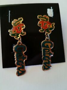 Florida Gators Studded Earrings NCAA College Athletics Fan Shop Sports Team Merchandise