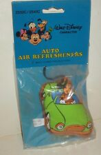 DISNEY VINTAGE 1980'S MICKEY MOUSE PILLOW AIR FRESHENER WITH SCENT VIAL