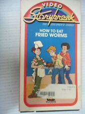 How To Eat Fried Worms VHS Video Storybreak The Childrens Choice Playhouse Video