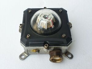 ORGA L85EX-G-AC Helideck Perimeter Licht, Explosionssicher Grüne LED, 100-254