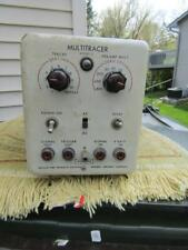 Vintage Multitracer Model 5  Hughes Aircraft Test Equipment Not Tested