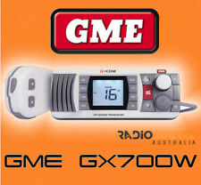 GME GX700W BOAT MARINE VHF RADIO WATERPROOF NEW TWO WAY OFF SHORE REPLACES GX600