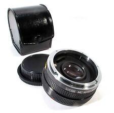 Sicor MC Auto 2X Converter for Canon FD - Very Clean in Case