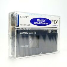 Sony DVM-4CLD Mini DV Head Cleaning Tape Cassette Video Camera - New & Sealed