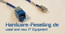EMC Ethernet Verlängerung CAT-5e/6 auf Panel Mount MGMT 30 cm 038-003-718 A02