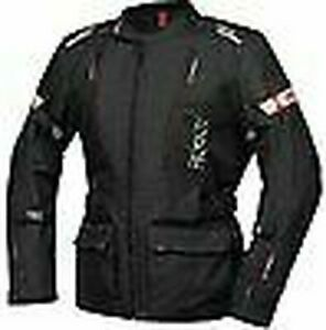 IXS Motorcycle Tour Jacket Lorin- St For Men's Black/Red
