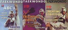3 Dvd Set Taekwondo Modern Competition Sparring Strategy Training Dana Hee