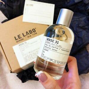 Le Labo Rose 31 Eau De Perfume 3.4 fl.oz / 100 ml Unisex Fragrance New Box