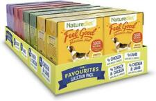 Naturediet Feel Good Selection Complete Wet Dog Food 16 x 390g SAME DAY DESPATCH