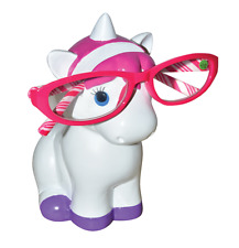 Unicorn Glasses Stand Specs Holder Spectacles Sunglasses Adults Kids Pink