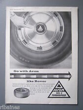 R&L Ex-Mag Advert: Avon Turbospeed Mk4 Tyre  equipments Rover 3 Litre Mk3
