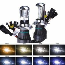 2x H4 55W Hi/Low Beam HID Xenon Light Lamp Headlight Bulb Conversion KIT 12000K