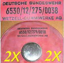 2x BW Gummi Eisbeutel - Wärmebeutel Sport Verletzung Boxer Reha Boxsport Kühlung