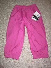 rugged bear purple Girls Snow Bib Snow Outerwear lined powder Pants 5 new nwt