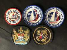 "Lot- Yacht Racing Patches 1989-1990 ""Metropolitan Yacht Club"" Oakland - Catalina"