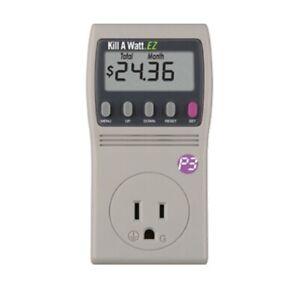 P3 International Kill a Watt P4460 125V Home Electricity Usage Monitor