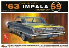 Skill 2 Model Kit 1963 Chevrolet Impala SS Hardtop 4 in 1 1/25 AMT Amt1149 M
