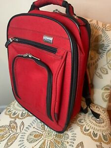 Travelpro Walkabout Red Ballistic Nylon Backpack Padded Bag Travel Carry On