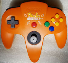 Nintendo 64 Limited Edition Pikachu Controller Orange Yellow Japan N64 US Seller